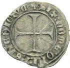 Photo numismatique  MONNAIES ROYALES FRANCAISES CHARLES VII (30 octobre 1422-22 juillet 1461)  Petit blanc au K, Toulouse.