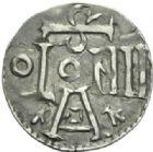 Photo numismatique  MONNAIES MONNAIES DU MONDE ALLEMAGNE MUENSTER (XIe siècle) Denier.