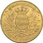 Photo numismatique  MONNAIES MONNAIES DU MONDE MONACO ALBERT Ier (1889-1922) 100 francs or, Paris 1891.