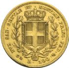 Photo numismatique  MONNAIES MONNAIES DU MONDE ITALIE SAVOIE-SARDAIGNE, Charles Albert (1831-1849) 100 Lire, Gênes 1835.