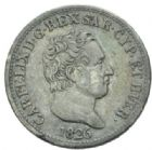 Photo numismatique  MONNAIES MONNAIES DU MONDE ITALIE SAVOIE-SARDAIGNE, Charles Félix (1821-1831) 50 centesimi, Turin 1826.