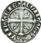 Photo numismatique  MONNAIES BARONNIALES Comté de PROVENCE ROBERT d'ANJOU (1309-1343) Provençal.