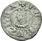 Photo numismatique  MONNAIES MONNAIES DU MONDE ESPAGNE CATALOGNE, Pierre III (1336-1387) Obole.