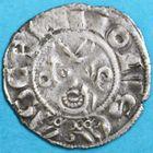 Photo numismatique  MONNAIES BARONNIALES Prieuré de SOUVIGNY Les Prieurs seuls (1249-1262) Denier.