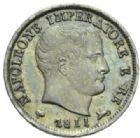 Photo numismatique  MONNAIES MODERNES FRANÇAISES NAPOLEON Ier, roi d'Italie (1805-1814)  5 soldi, Milan 1811.