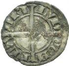 Photo numismatique  MONNAIES BARONNIALES Comté de FLANDRE LOUIS de CRÉCY (1322-1346) Denier.