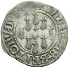 Photo numismatique  MONNAIES BARONNIALES Duché de BRETAGNE JEAN V (1399-1442) Gros, Vannes avan t 1436.