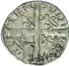 Photo numismatique  MONNAIES BARONNIALES Duché d'AQUITAINE EDOUARD, prince noir (1352-1372) Hardi, La Rochelle.