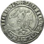 Photo numismatique  MONNAIES BARONNIALES Comté de HAINAUT MARGUERITE de Constantinople (1244-1280) Baudekin de la classe 4, Valenciennes.