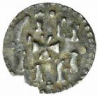 Photo numismatique  MONNAIES CAROLINGIENS CHARLEMAGNE, roi (768-800) empereur (800-814) Premier type (768 - avant 793/794) Denier, Le Mans.