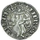 Photo numismatique  MONNAIES BARONNIALES Comté de PROVENCE JEANNE de NAPLES (1343-1382) Octhène de Piémont, frappée à Tarascon après 1365.