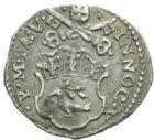 Photo numismatique  MONNAIES MONNAIES DU MONDE ITALIE SAINT-SIEGE, Innocent X (1644-1655) Demi gros de l'an V.
