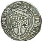 Photo numismatique  MONNAIES MONNAIES DU MONDE ITALIE SAINT-SIEGE, Jules II (1503-1513) Tiers de Jules, Rome.