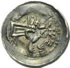 Photo numismatique  MONNAIES BARONNIALES Evêché de METZ BERTRAM (1179-1212) Denier.