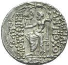 Photo numismatique  MONNAIES GRECE ANTIQUE ASIE MINEURE. Rois de SYRIE Antiochus  VIII Grypus (121-96) Tétradrachme, Antioche-sur-Oronte 108-96.