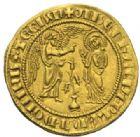 Photo numismatique  MONNAIES MONNAIES DU MONDE ITALIE NAPLES, Charles Ier d'Anjou (1246-1285) Salut d'or.