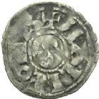 Photo numismatique  MONNAIES BARONNIALES Seigneurie de MAULEON SAVARI (1199-1236) Denier.