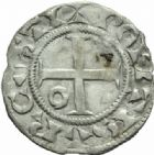 Photo numismatique  MONNAIES ROYALES FRANCAISES LOUIS VI le Gros (1108-1137)  Denier du 6�me type, frapp� � Pontoise.