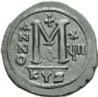 Photo numismatique  MONNAIES EMPIRE BYZANTIN JUSTINIEN Ier (527-565)  Follis frappé à Cyzique.