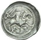 Photo numismatique  MONNAIES BARONNIALES Duché de LORRAINE FERRI III (1251-1303) Denier de Nancy.