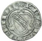 Photo numismatique  MONNAIES BARONNIALES Duché de LORRAINE RAOUL (1329-1346).  Quart de gros.