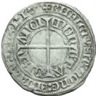 Photo numismatique  MONNAIES BARONNIALES Duché de LORRAINE CHARLES II (1390-1431) Gros de Nancy.