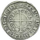 Photo numismatique  MONNAIES BARONNIALES Duché de LORRAINE RENE Ier (1419-1480) Gros frappé à Saint-Mihiel.