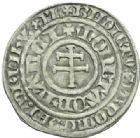 Photo numismatique  MONNAIES BARONNIALES Duché de LORRAINE RENE Ier (1419-1480) Gros frappé à Nancy.