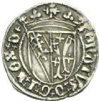 Photo numismatique  MONNAIES BARONNIALES Duché de LORRAINE RENE II (1473-1508) Demi-gros de Nancy.