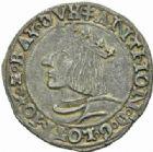Photo numismatique  MONNAIES BARONNIALES Duché de LORRAINE ANTOINE (1508-1544) Teston de Nancy.