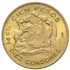 Photo numismatique  MONNAIES MONNAIES DU MONDE CHILI République (depuis 1821) 10 condores ou 100 pesos, 1973.