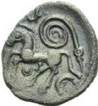 Photo numismatique  MONNAIES GAULE - CELTES AMBIANI (Bassin de la Somme)  Quinaire.