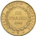 Photo numismatique  MONNAIES MODERNES FRANÇAISES 3ème REPUBLIQUE (4 septembre 1870-10 juillet 1940)  50 francs or, 1904.