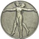 Photo numismatique  ARCHIVES VENTE 2013 -Coll Henri Dolet DERNIERE MINUTE MEDAILLES CONCERNANT L'ALGERIE  840- Commission des valeurs de Douane, Algérie, 1937.