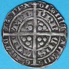 Photo numismatique  MONNAIES BARONNIALES Duché d'AQUITAINE EDOUARD, prince noir (1352-1372) Demi gros de Poitiers.