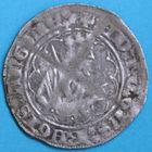 Photo numismatique  MONNAIES BARONNIALES Duché d'AQUITAINE EDOUARD, prince noir (1352-1372) Demi-gros de la Rochelle. 2e émission.