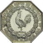 Photo numismatique  ARCHIVES VENTE 2013 -Coll Henri Dolet JETONS ET MEDAILLES DES MINES PONTS et CHAUSSEES et MINES  765- Jeton.