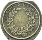 Photo numismatique  ARCHIVES VENTE 2013 -Coll Henri Dolet JETONS ET MÉDAILLES DES MINES Mines de VIEUX-CONDE (Nord)  758- Jeton de hercheur.