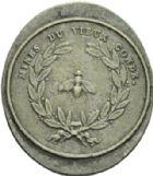 Photo numismatique  ARCHIVES VENTE 2013 -Coll Henri Dolet JETONS ET MEDAILLES DES MINES Mines de VIEUX-CONDE (Nord)  757- Jeton.