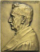 Photo numismatique  ARCHIVES VENTE 2013 -Coll Henri Dolet JETONS ET MÉDAILLES DES MINES Mines de VICOIGNE, NOEUX et DROCOURT (Pas-de-Calais)  756- Plaquette 1929.