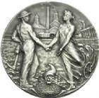 Photo numismatique  ARCHIVES VENTE 2013 -Coll Henri Dolet JETONS ET MEDAILLES DES MINES Mines de VICOIGNE (Nord) et NOEUX (Pas-de-Calais)  755- Jeton de 1908.
