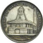 Photo numismatique  ARCHIVES VENTE 2013 -Coll Henri Dolet JETONS ET MEDAILLES DES MINES Mines de VICOIGNE (Nord) et NOEUX (Pas-de-Calais)  754- Jeton de 1863.