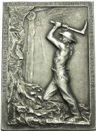 Photo numismatique  ARCHIVES VENTE 2013 -Coll Henri Dolet JETONS ET MÉDAILLES DES MINES Mines de LENS (Pas-de-Calais)  751- Lot.