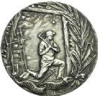 Photo numismatique  ARCHIVES VENTE 2013 -Coll Henri Dolet JETONS ET MÉDAILLES DES MINES Mines de l'Escarpelle à FLERS (Nord)  746- Médaille.