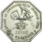 Photo numismatique  ARCHIVES VENTE 2013 -Coll Henri Dolet JETONS ET MÉDAILLES DES MINES Mines de BRUAY (Pas-de-Calais)  743- Jeton.