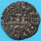 Photo numismatique  MONNAIES BARONNIALES Royaume de NAVARRE THIBAUT II (1253-1270) Denier.