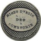 Photo numismatique  ARCHIVES VENTE 2013 -Coll Henri Dolet JETONS ET MEDAILLES DES MINES Mines d'ANZIN, RAISMES, FRESNES et VIEUX-CONDE  738- Lot.