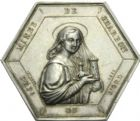 Photo numismatique  ARCHIVES VENTE 2013 -Coll Henri Dolet JETONS ET MEDAILLES DES MINES Mines d'ANZIN, RAISMES, FRESNES et VIEUX-CONDE  737- Médaille.