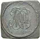 Photo numismatique  ARCHIVES VENTE 2013 -Coll Henri Dolet JETONS ET MÉDAILLES DES MINES Mines d'ANZIN (Nord)  735- Jeton.