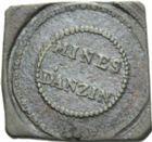 Photo numismatique  ARCHIVES VENTE 2013 -Coll Henri Dolet JETONS ET MEDAILLES DES MINES Mines d'ANZIN (Nord)  735- Jeton.